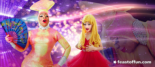 To be honest, the first time we met Vivacious we also were flabbergasted. Lactatia & Vivacious, photo captures courtesy of Elle Magazine.