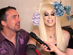 Sneak Peek: Alaska Thunderfun Backstage at the Drag Queens of Comedy