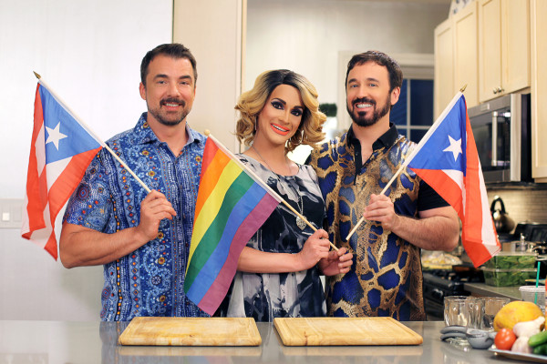 Marc Felion, Cynthia Lee Fontaine and Fausto Fernós. Right click this image and make it your desktop wallpaper. Photo: Jeff Knutson.