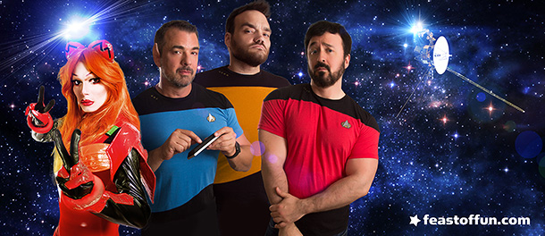 Pigs in Space - What the Trek? #4