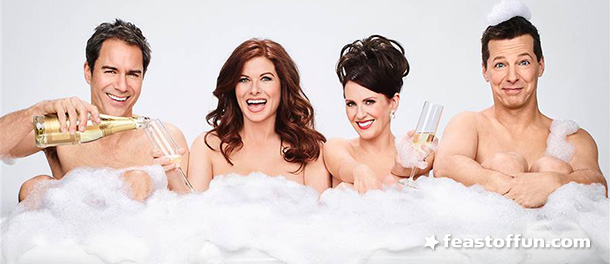 Will & Grace are back, and this time it's personal. The actors, like the characters they portray on TV,  face getting older in a world obsessed with youth and superficiality. Photo: NBC Television.