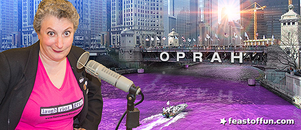FOF #2727 - When Oprah Dyed the Chicago River The Color Purple
