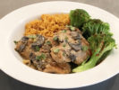 Recipe: Chicken in Creamy White Wine Sauce with Mushrooms