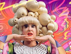 FOF #2775 - Lady Bunny Flips Her Wig