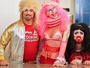 Disasterina! Behind the scenes on Cooking with Drag Queens