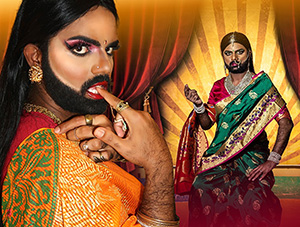 FOF #2914 - Sari, Not Sorry! Kamani Sutra, the South Indian Drag Queen
