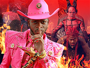 FOF #2947 - Lil' Nas X Rides the Pole Down to Hell